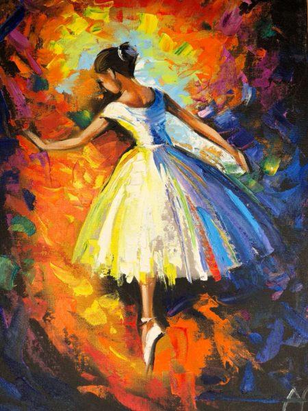 Балерина в цвете Максимович Анна КЖУН309