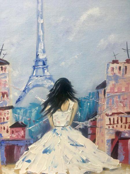 Девушка в Париже Симонова Любовь КЖКВ126