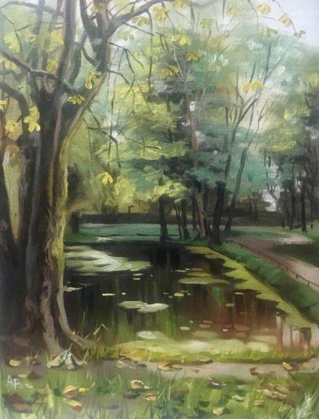 Озеро в лесу Вершинина Анна КЖКВ337