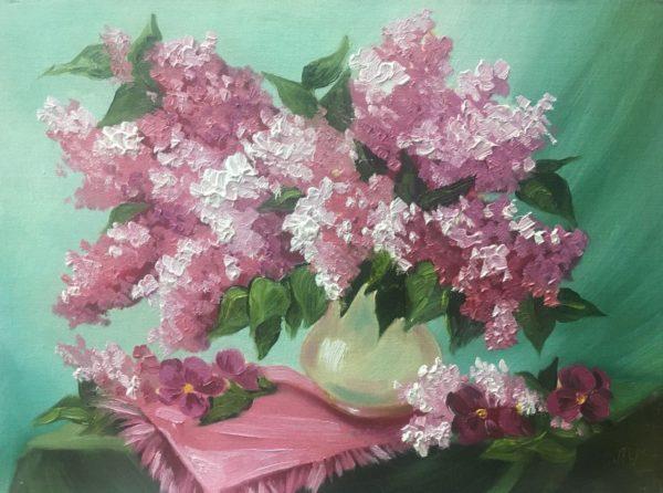 Розовая сирень Ласунова Ульяна КЖКВ365