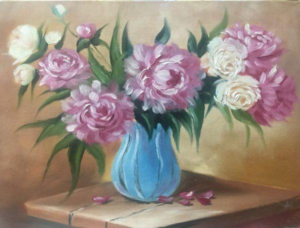 Цветы в вазе Радюхина Анна КЖКВ357
